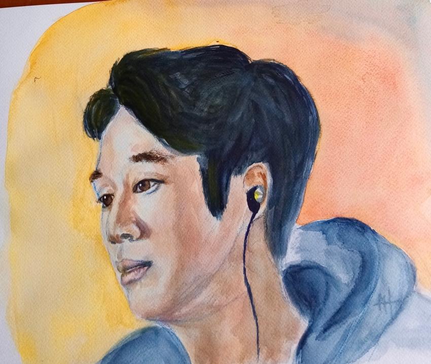 Jung Hae-in por clinchamps